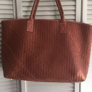 J McLaughlin Tote weaved